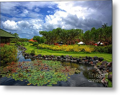 In Bali Metal Print by Charuhas Images