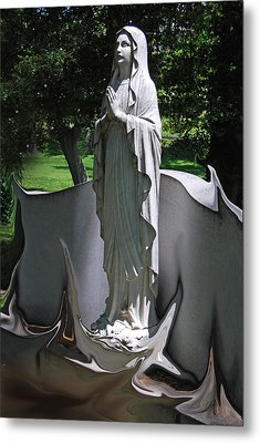 In The Light Metal Print by Patricia Motley