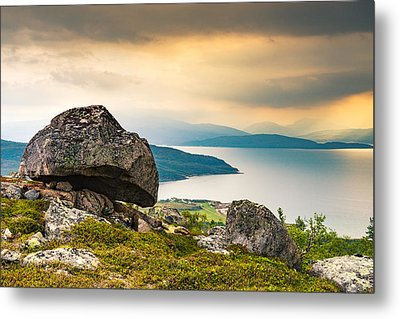 Metal Print featuring the photograph In The North by Maciej Markiewicz