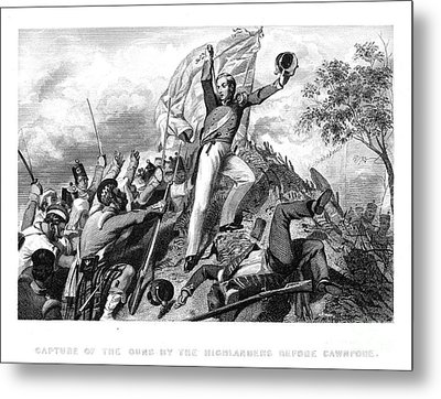 India: Sepoy Rebellion, 1857 Metal Print by Granger