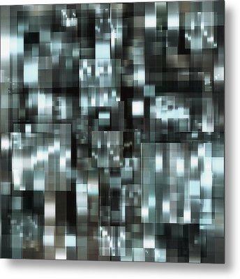 industrialLight 1 Metal Print by Harry Hunsberger