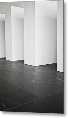 Interior Pillars Metal Print by Tom Gowanlock