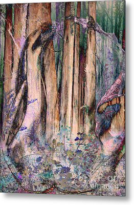 Into The Forest 13 Metal Print