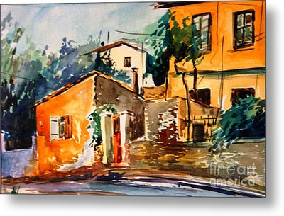 Ipiros Old Houses Metal Print