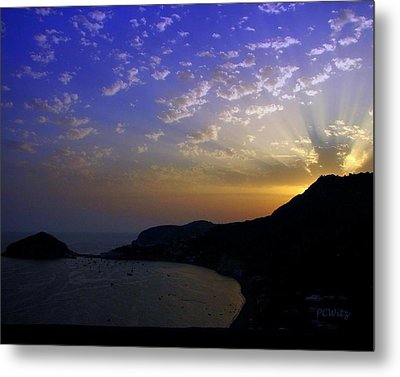 Metal Print featuring the photograph Ischia Awakens by Patrick Witz