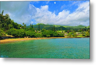 Island Of Maui Metal Print by Michael Rucker