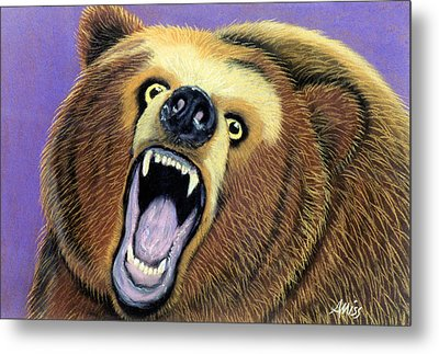 Issues Metal Print by Jan Amiss