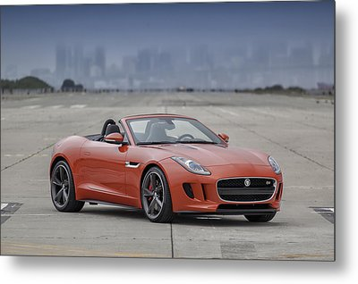Jaguar F-type Convertible Metal Print