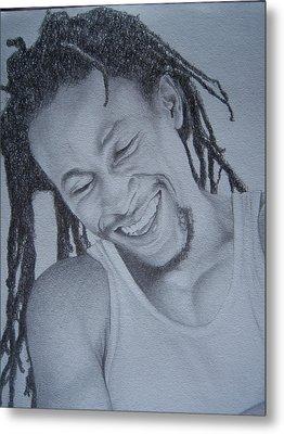 Jah Cure Metal Print by Jeffrey Samuels