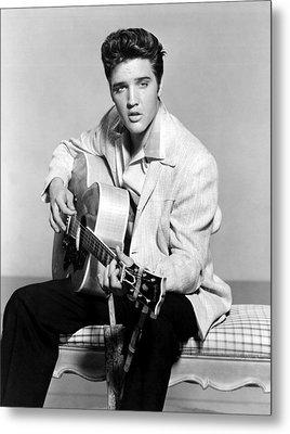 Jailhouse Rock, Elvis Presley, 1957 Metal Print