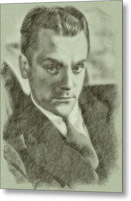 James Cagney By John Springfield Metal Print by John Springfield