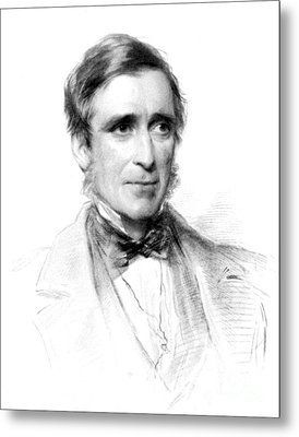 James Paget, English Surgeon Metal Print by Science Source