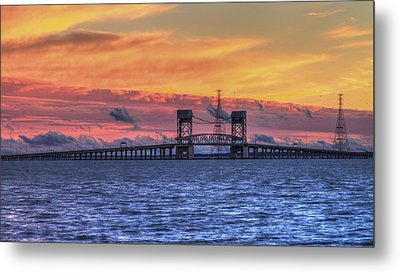 James River Bridge Metal Print