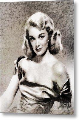 Jan Sterling, Vintage Actress Metal Print