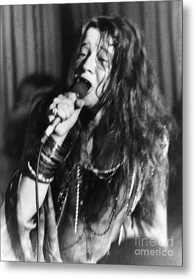 Janis Joplin (1943-1970) Metal Print