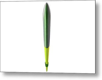 Javelin Isolated Metal Print