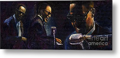 Jazz Ray Charles Metal Print