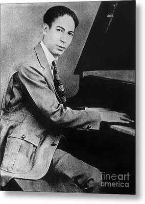 Jelly Roll Morton Metal Print by Granger