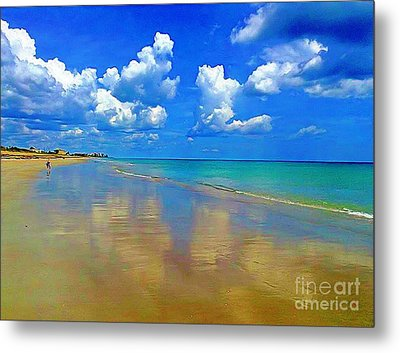 Jensen Beach  Metal Print by Patrice Torrillo