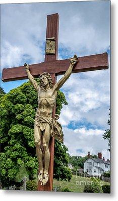 Jesus Of Nazareth Metal Print by Adrian Evans