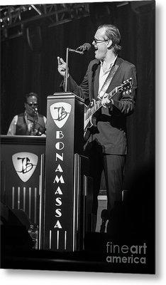 Joe Bonamassa - Guitar Solo In Minneapolis 4 Metal Print