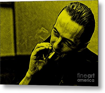 Joe Strummer Collection Metal Print