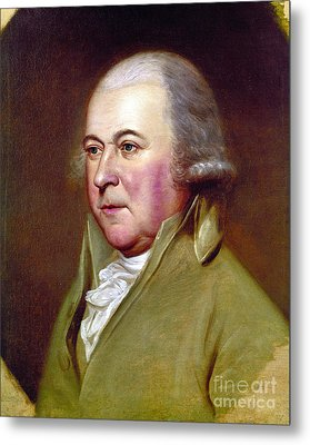 John Adams (1735-1826) Metal Print by Granger