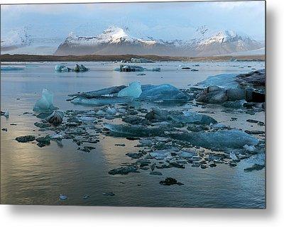 Metal Print featuring the photograph Jokulsarlon, The Glacier Lagoon, Iceland 5 by Dubi Roman