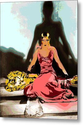 Josephine Baker Metal Print by Charles Shoup