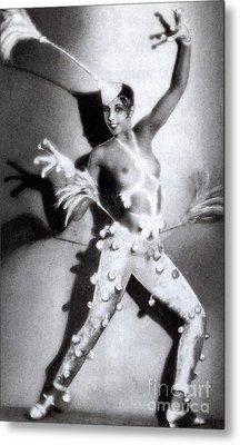 Josephine Baker Metal Print by Stanislaus Walery