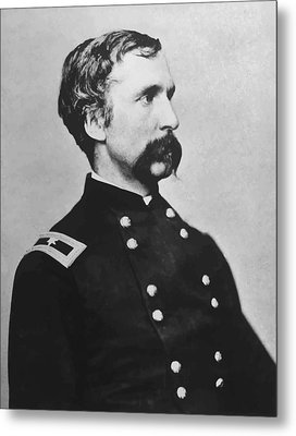Joshua Lawrence Chamberlain  Metal Print by War Is Hell Store