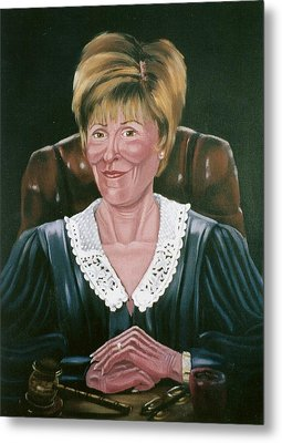 Judge Judy Metal Print by Susan Roberts