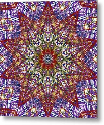 Kaleidoscope 414 Metal Print