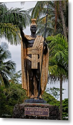 Kamehameha The Great Metal Print by Christopher Holmes