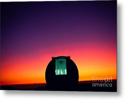 Keck Observatory Metal Print by Peter French - Printscapes