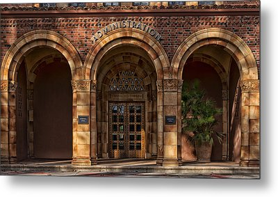 Kendall Hall Administration Building -  Cal State University Chico Metal Print