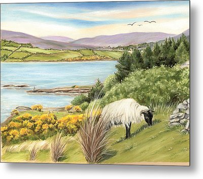 King Of The Hill Metal Print by Vanda Luddy
