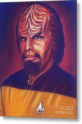 Klingon Star Trek Metal Print by Anastasis  Anastasi