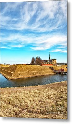 Metal Print featuring the photograph Kronborg Castle In Helsingor by Antony McAulay