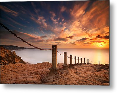 La Jolla Sunset 2 Metal Print by Larry Marshall