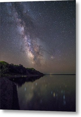 Metal Print featuring the photograph Lake Oahe  by Aaron J Groen