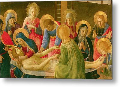 Lamentation Over The Dead Christ Metal Print