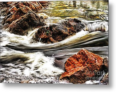 Lamina Flow Metal Print by Blair Stuart