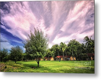 Metal Print featuring the photograph Landscape  by Charuhas Images