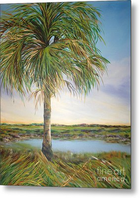 Large Palm Metal Print by Michele Hollister - for Nancy Asbell