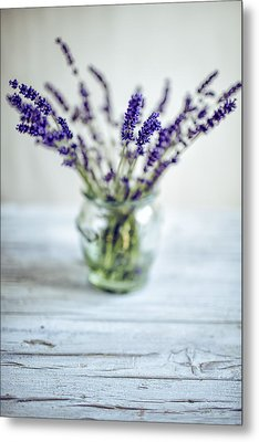 Lavender Still Life Metal Print by Nailia Schwarz