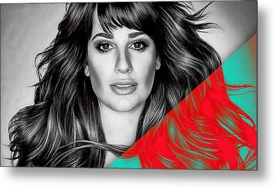 Lea Michele Collection Metal Print