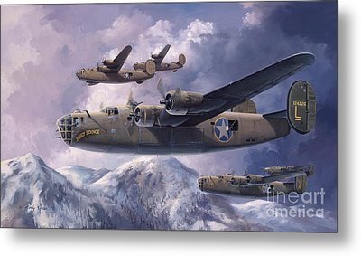 Legends Of The 93rd  Metal Print by Randy Green