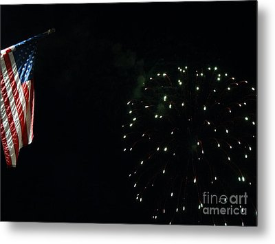 Let Freedom Ring Metal Print by Gina Sullivan