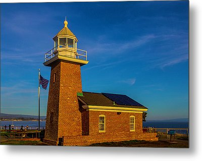 Lighthouse Point Metal Print by Garry Gay
